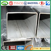 Galvanized Stainless Steel Square Tube