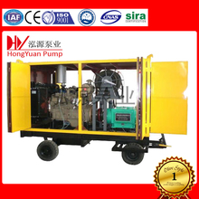 high pressure water jet drain cleaning machine