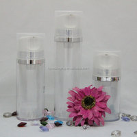 Cosmetic Plastic Airless Bottle Pump Bottle