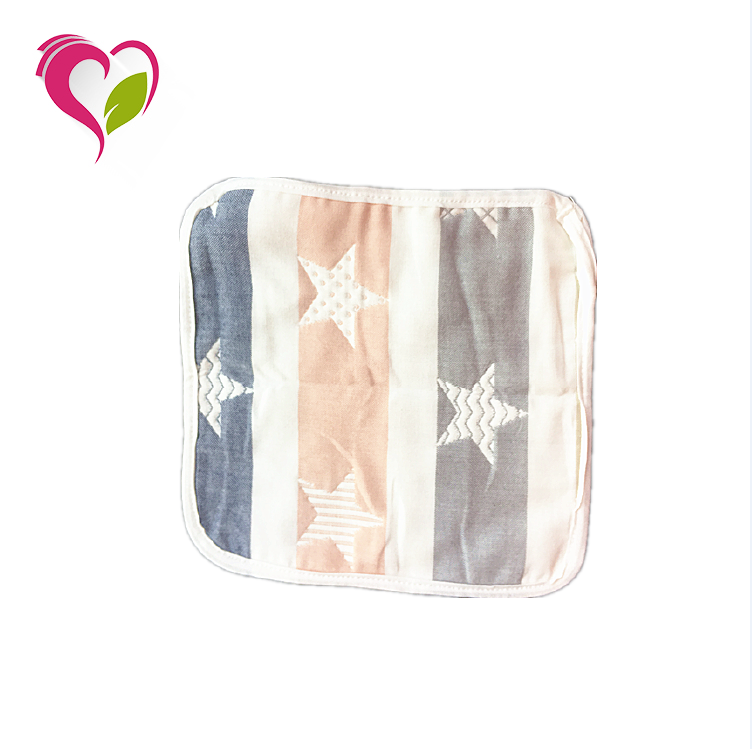 Hot <strong>Sale</strong> High Quality Breathable and Soft Newborn Square Baby Washcloth