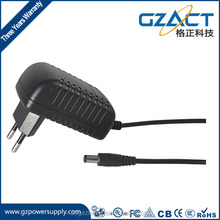 12v 1a wall-mounted dc power adapter for audio CCTV camera wifi router in Britain US France German