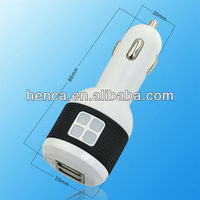 2.1A mobile car charger for iPhone