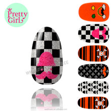 Wholesale Custom Jamberry Vinyl Nail Wraps Stickers, Custom Nail Art Stickers DNS-37