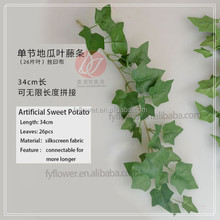 342-700-900 New Arrival Decorative Flowers&Wreaths Type artificial plastic flower garland/ivy