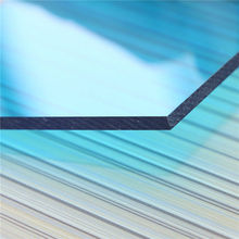 UV Lexan polycarbonate sheet manufacturer policarbonato solid plate rate