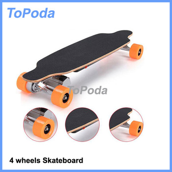 Skateboard with controller