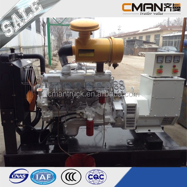 China 3 Phase 50Hz Open Diesel Engine Power 75kva with ATS diesel generator price list