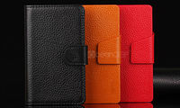 Tiny lychee leather wallet case for Nokia Lumia 920 mobile phone case new product 2013