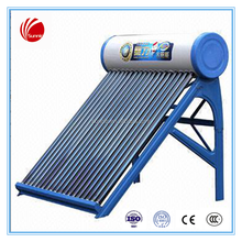 Vacuum tube collector for solar hot water heater