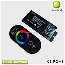 Promotion, RF wireless led rgb touch controller large stock