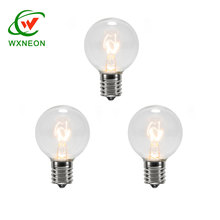 5W 110V C7 E12 G40 Incandescent Clear Globe Eedison Glass Bulb