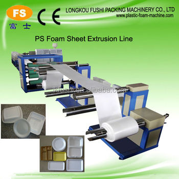 ps lunch sheet making machine