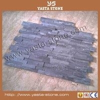 Best Price Architectual Wall Cladding Black Slate Facade