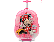 2016 newest design 3D ABS/PC Kids trolley Luggage