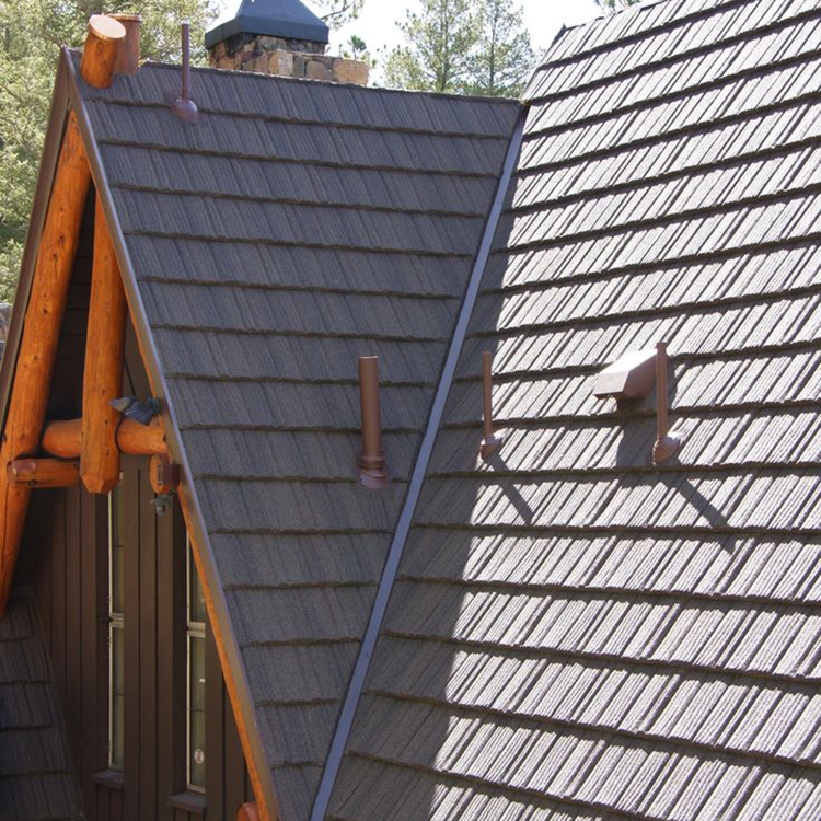 Latest decorative metal roofs,stone coated metal roofing sheet,wholesale roofing shingles