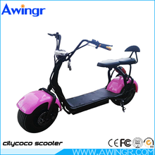 New customized 1000W citycoco 18*9.5 big two wheels electric scooter harley
