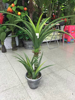 Plastic Artificial Bonsai Tree Artificial Tree Artificial Pineapple leaf