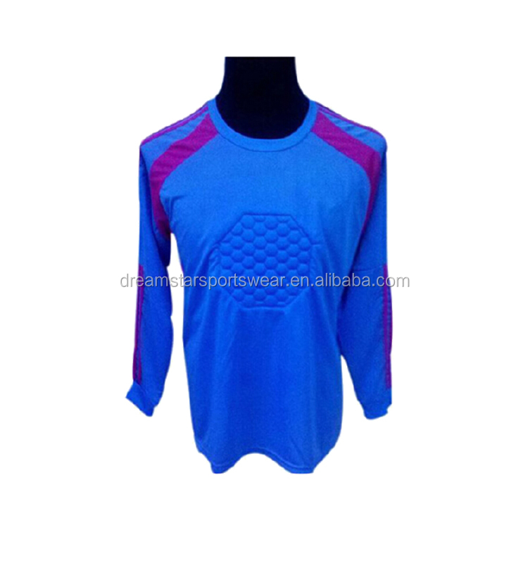 Framing Latest Style Goalkeeper Football Jersey With OEM Service