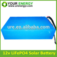 professional supply 12V lithium solar battery customised capacity 400ah solar lithium battery with long life cycle