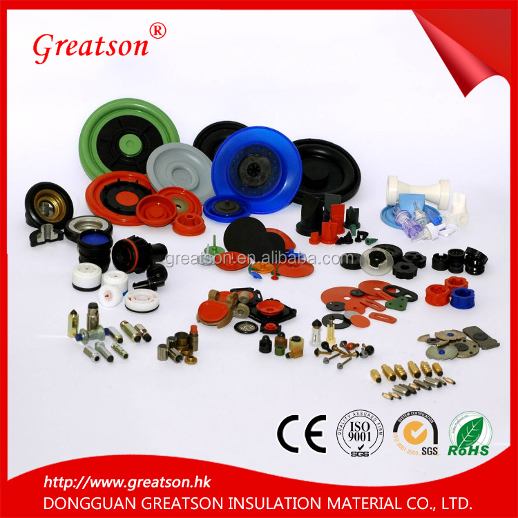 Custom high quality EPDM fire flame resistant rubber foot parts made in china