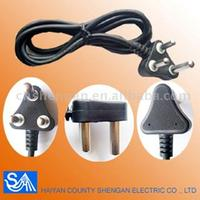 South African Plug Power Cord