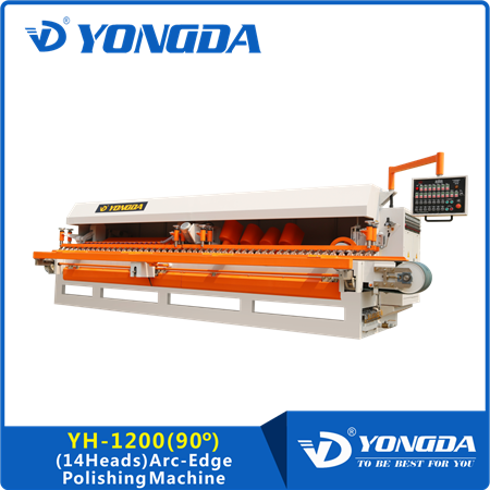 YH-1200 (14 HEADS) TILES ARC-EDGE POLISHING MACHINE