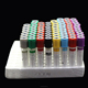 Lab hospital medical disposable consumable different colors surgical sterile glass/ PET vacutainer gel blood test tube