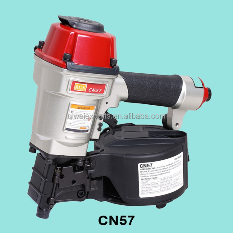 "2014 New Arrival 2-1/4""(57MM), WIRE-COLLATED COIL NAILER CN57"