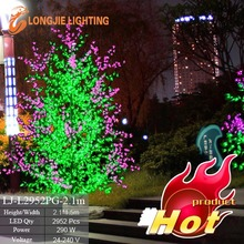 led luminous tree landscape decorative flowering lights