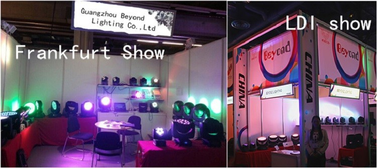 19*15w 4in1 Led Wash Zoom Guangzhou Stage Light in China