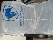 PE disposable clear car seat covers/pe seat covers/plastic seat covers white color with logo