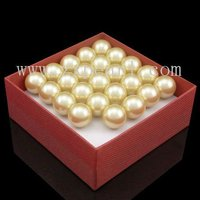 22mm Unique Round Shape Large Hole Plastic Pearl Beads
