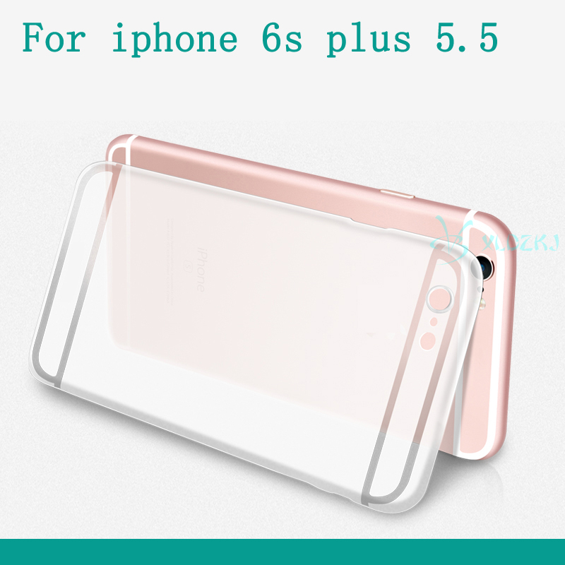2016 Fashion Soft Colorful Mobile Phone Accessories For Iphone 6 4.7 5.5 Inch Crystal Case