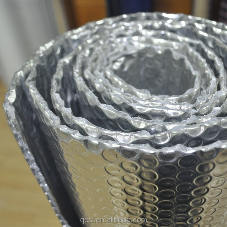50mm thick roof insulation aluminium foil roof insulation aluminum thermal reflective foil insulation