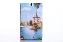 "Smart cover PU leather case for Sony Xperia Z3 tablet 8"" inch"
