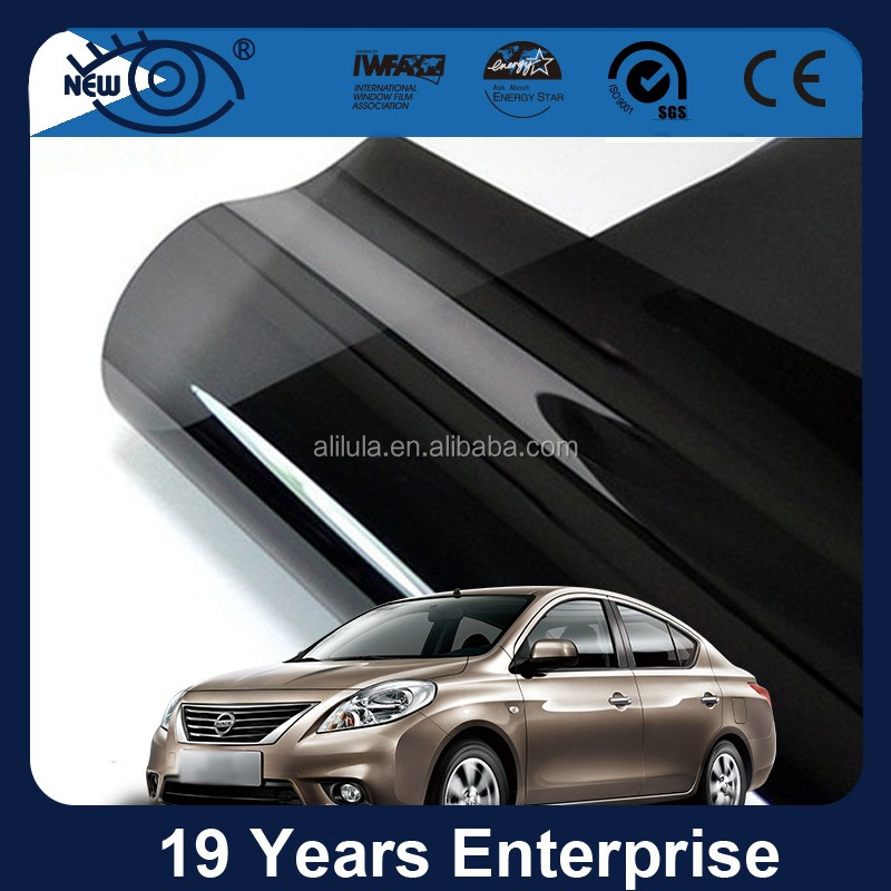 PET material 2ply dyed car window film gila for sale