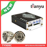 High Quality Big Power Motorcycle Amplifier 100gb mp3 player