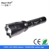 multipurpose waterproof rechargeable led flexible torch flashlight light for bicycle mount