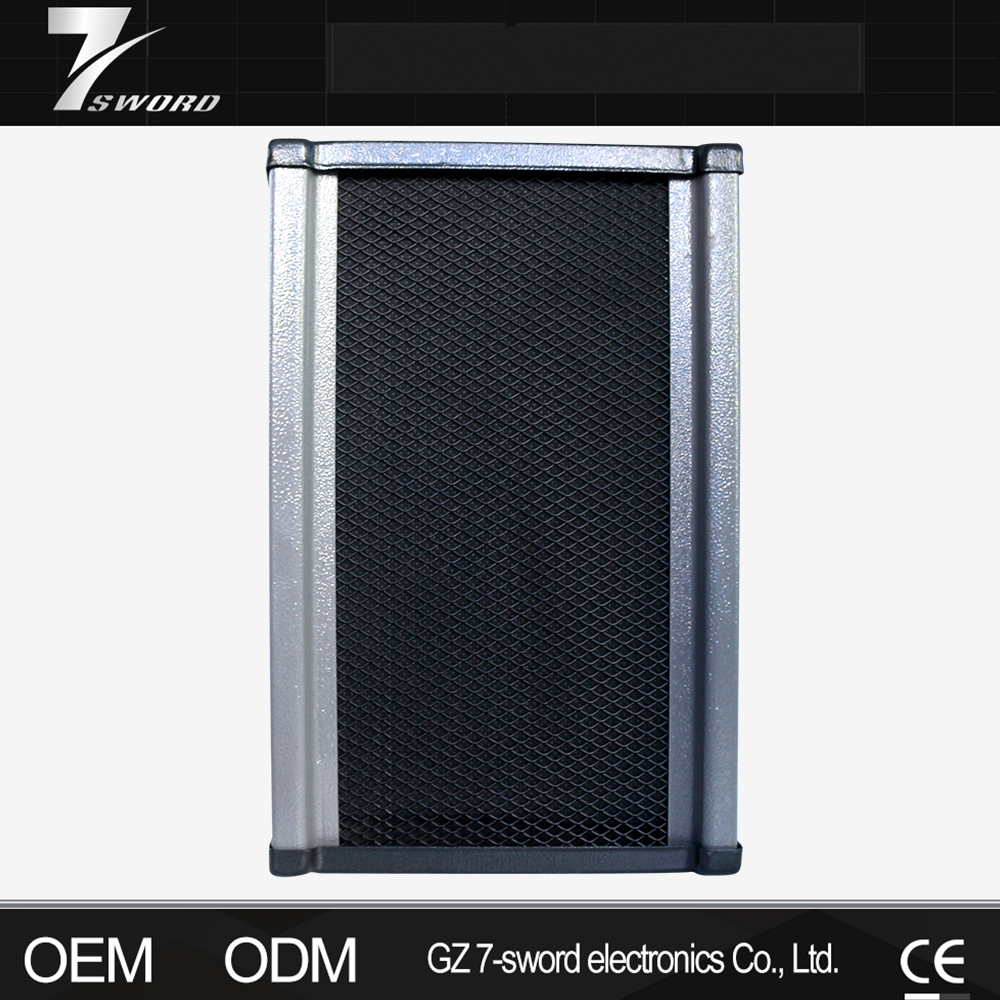 Outdoor PA System Loudspeaker Waterproof Column Speaker in Aluminium Frame