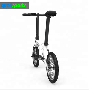 2018 New mini folding electric bike 250W 36V china electric moped with pedals ebike cheap foldable bicycle scooters for sale