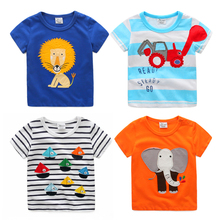 Organic Cotton Baby Clothes Promotion Price Wholesale Printed Polo T-shirts For Children