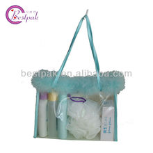 elegant handmade wearable gift wrapping plastic bag