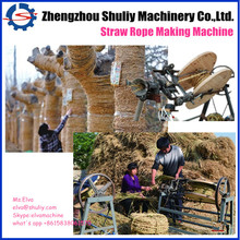 Simple Rice Straw Rope/Grass Rope/Reed Rope Making Machine