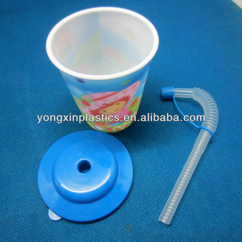 drinking reusable plastic children straw cup