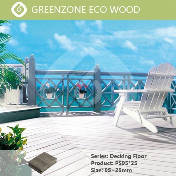 environment protecting wood texture balcony wood decking flooring eco wood