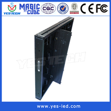 Good Air Permeability but Light-proof fixing installation P8.9 outdoor led display