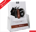 Clear Acrylic Paper Brochures Holder