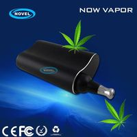 2015 newest reliable herbal vaporizer ceramic heating element dry herb vaporizer with 30's to heat up twice the vapor pure taste