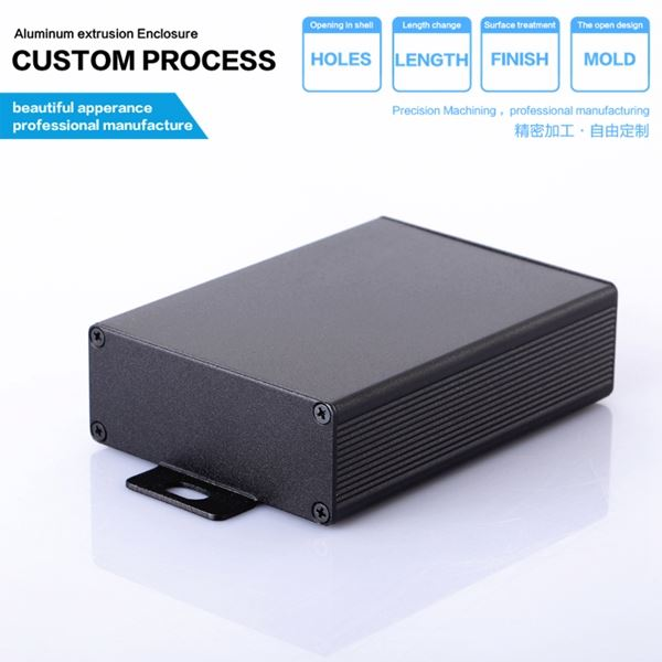 2016 newest extruded aluminum electrical pcb instrument case enclosure