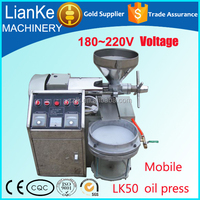 LK50 oil mill sunflower soybean neem prickly pear seed palm sesame coconut olive oil machine/oil making machine with CCC and CE